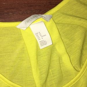 H&M Tops - ✨3 for $20 Sale✨H&M Lightweight Yellow Tank Top